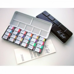 Coffret aquarelle White Nights en métal